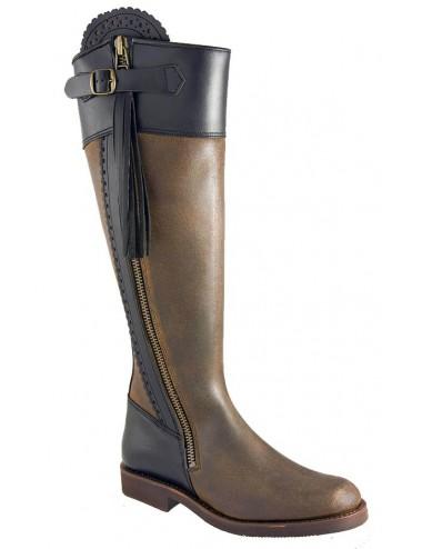 Bottes équitation - Bottes équitation cuir originales