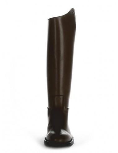 Bottes équitation cuir noir sur mesure - Bottes équitation sur mesure