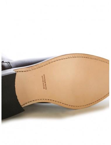 Bottes cavalières cuir marron élégantes