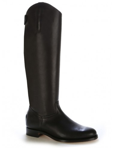 Bottes équitation cuir noir coupe anatomique - Bottes équitation