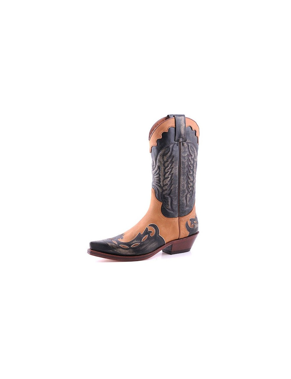 Bottes homme grande taille - Santiags mexicaines grandes tailles cuir