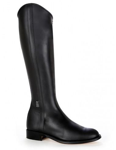 Bottes équitation classiques cuir noir