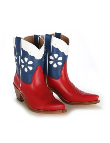 Bottines cowboy - Bottines country femme en cuir originales