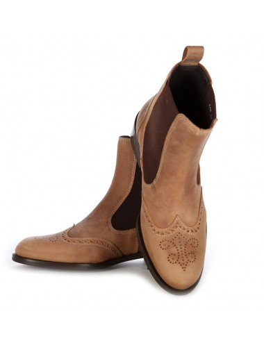 Bottines femme - Bottines country femme en cuir originales