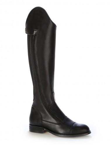 Bottes équitation elastique et cuir