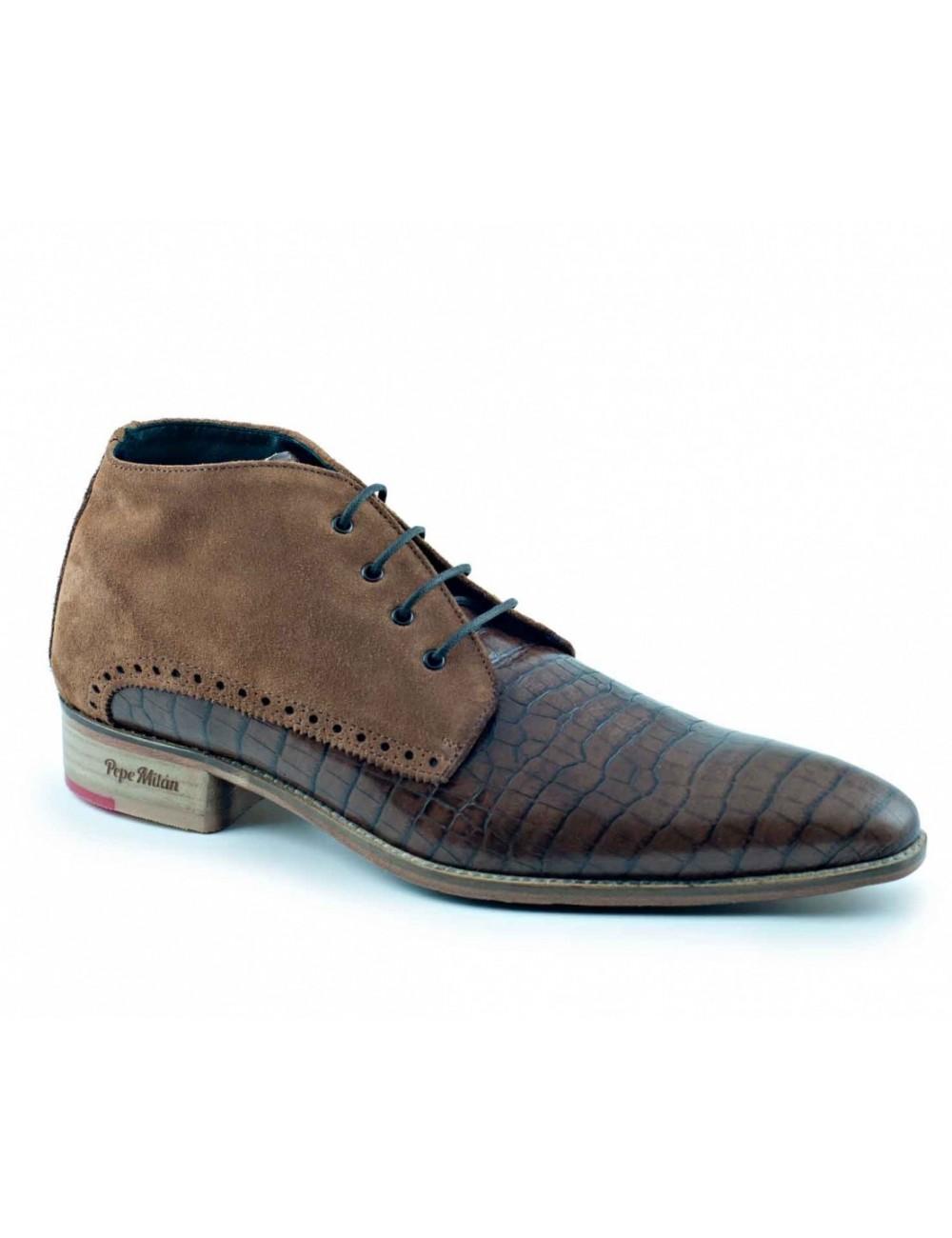Boots chukka homme en cuir tendances