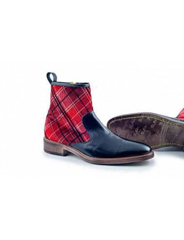 Bottines homme écossaises tendance