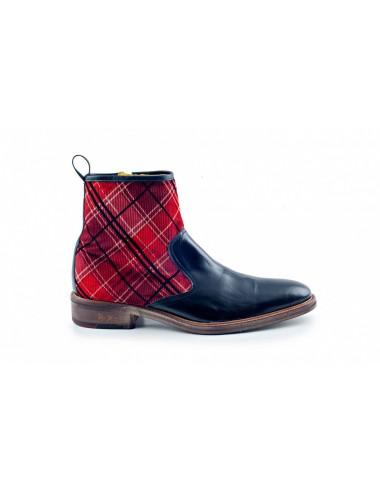 Bottines homme - Bottines homme écossaises tendance