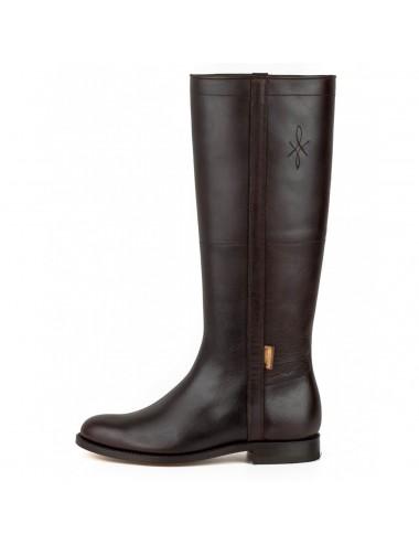 Bottes cavalières - Bottes camarguaises cuir marron