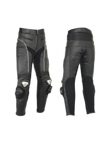 Pantalon moto cuir sur mesure