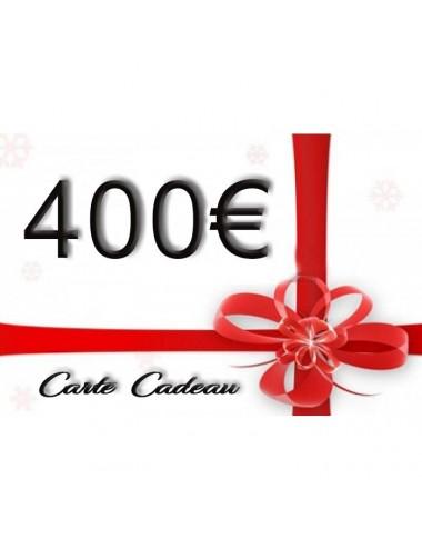 Carte Cadeau 400€