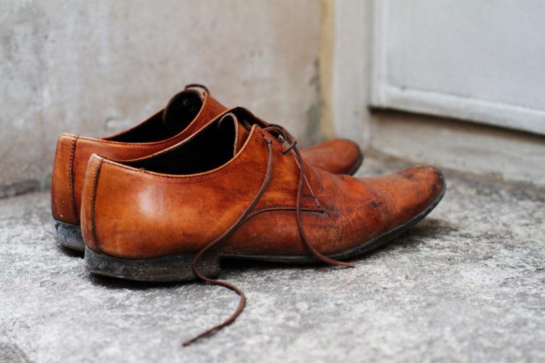 Chaussures cuir cirage